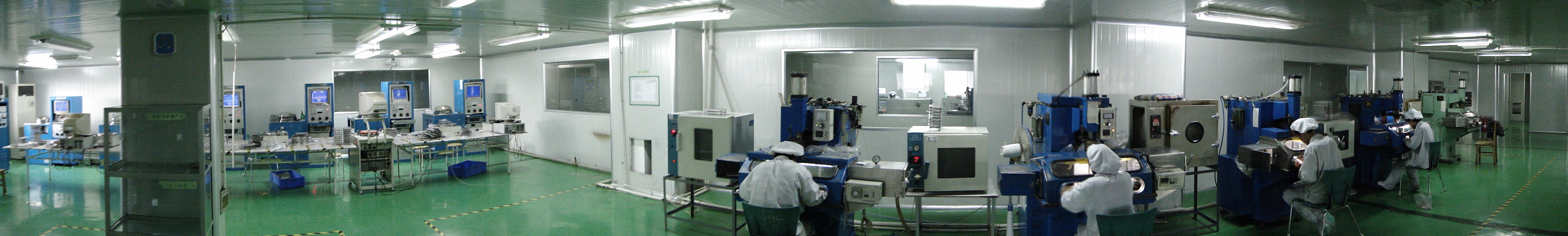 YIC工廠內部